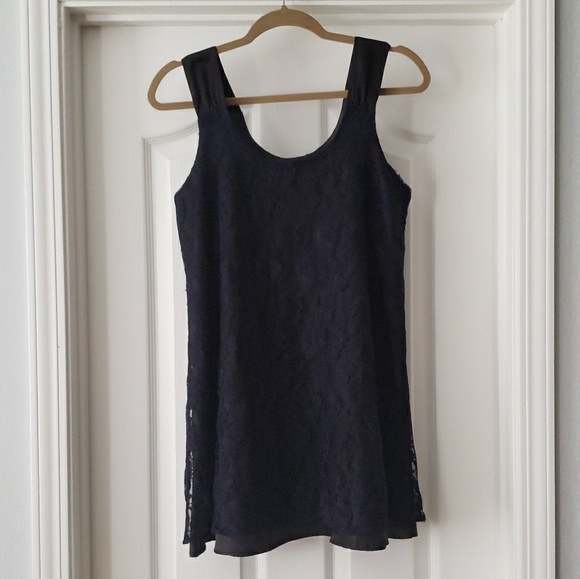 Forever 21 Dresses & Skirts - Black and Navy Lace Mini Dress